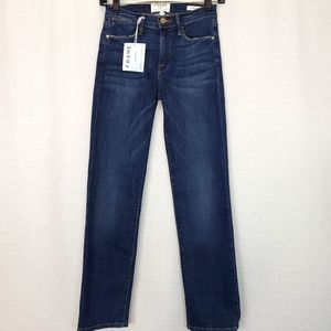 Frame Le High Straight Jean In York 24